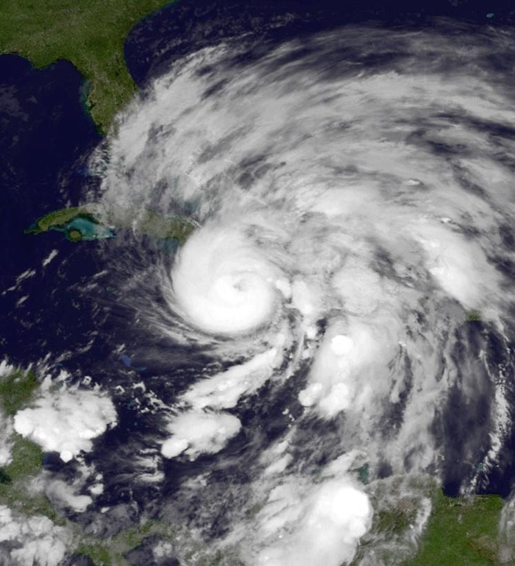 Hurricane Sandy on Oct. 25, 2012