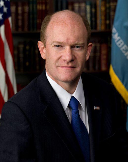 The man of the hour: Senator Chris Coons